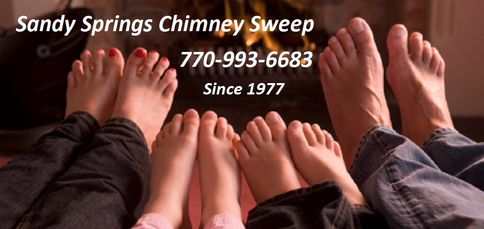 Sandy Springs chimney cleaning sweep